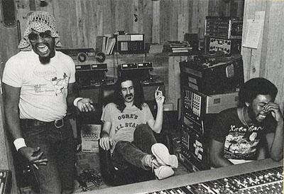 Frank Zappa en el estudio